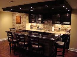 classy design ideas basement bars kitchen bar coolest basements
