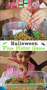 fine motor skills halloween game halloween games motor skills