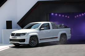 volkswagen amarok power pickup concept revealed