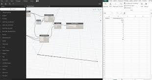 Archlab by Export Data From Excel To Dynamo To Create A Coordinate X That