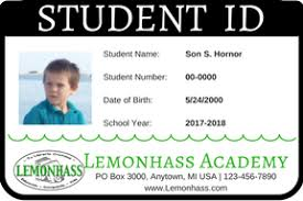 how to make student id cards free printable paradise praises
