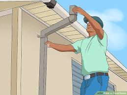 how to paint eaves with pictures wikihow