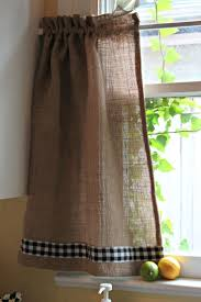 Green And White Gingham Curtains by 106 Best Gingham Crafts Images On Pinterest Kitchen Curtains