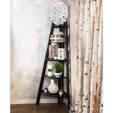 Lyss 5 Tier Corner Ladder by Furniture Of America Kiki 5 Tier Corner Ladder Display Bookcase