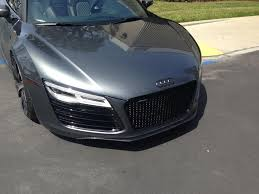 Audi R8 Blacked Out - r8 front lower chin lip spoiler options