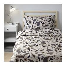 Duvet Covers Brown And Blue Sötblomster Duvet Cover And Pillowcase S Twin Ikea