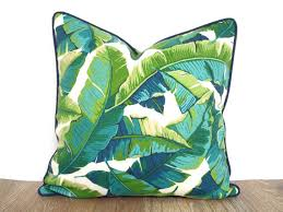 green bench cushion tropical outdoor pillow case green outdoor bench cushion