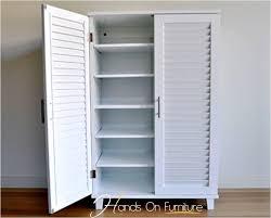 White Shoe Storage Cabinet Brand New White Louvre Door 36 Pairs Shoe Storage Cabinet Rack