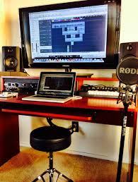 Recording Studio Workstation Desk by Contour Desk Jpg