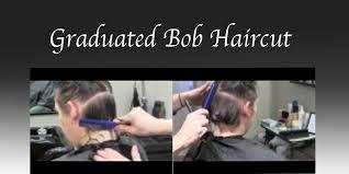 graduated bob haircut hair tutorial razor cut fine texture