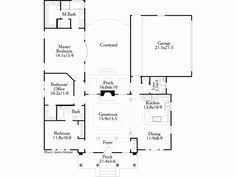 Courtyard Plans Super Ideas 12 House Plans With Inner Courtyard Spanish House