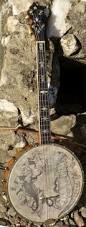 Backyard Music Banjo Banjo Head Art The Music Side Of Me Pinterest Banjo