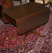 Mahogany Drop Leaf Table Duncan Phyfe Mahogany Drop Leaf Table