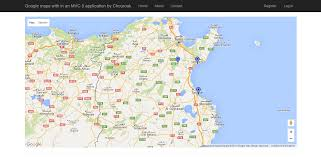 Visual Studio Code Map Google Map In Mvc5 Application In C Javascript For Visual Studio