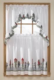 Birdhouse Shower Curtain Birdhouse Complete Kitchen Curtain Set Multi United Curtain