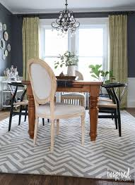 flooring grey lowes rugs under square black dining table and room