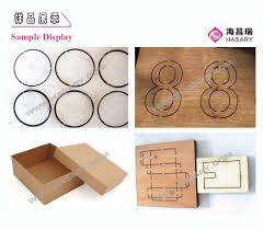hasary wood plywood die cut laser cutting machine china mainland