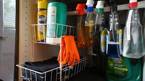 Under Kitchen Sink Organizer by Food Fashion Home Kitchen Under Sink Organization