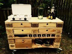k che aus paletten outdoor küche aus paletten selber bauen aussenküche