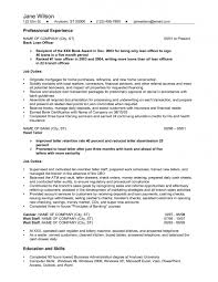 Banking Resume Examples by Banking Resume Examples
