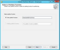 table partitioning in sql server create a table partition in sql server 2012 concurrency