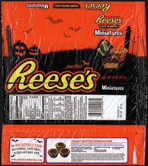 cc reese u0027s miniatures u2013 halloween u2013 11oz multi bag candy package
