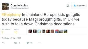 epiphany should christmas decorations come down on 6 january