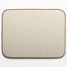 network microfiber dish drying mat