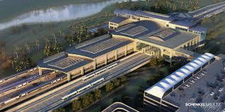 Map Orlando Airport by Commuter Rail Train Orlando Orlando Railroad Station All