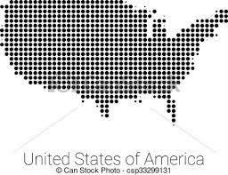 us map outline eps united states map outline eps usa map vector black dotted design