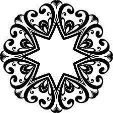 clipart decorative ornamental flourish frame aggrandized