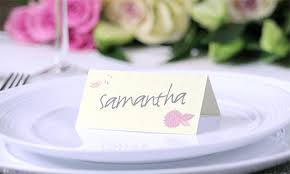 Place Cards Wedding Place Cards Printed Com