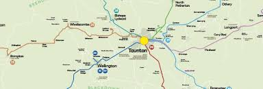 somerset map maps somerset uk