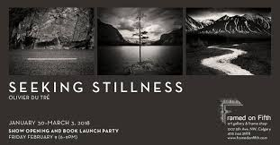 Seeking Book Stillness Show Opening And Book Launch Framed On Fifth Calgary