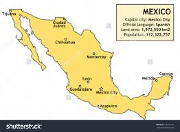 download map of mexico chihuahua major tourist attractions maps