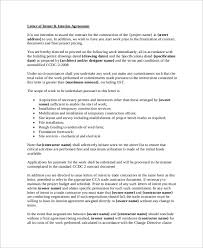 letter of intent template construction project sample letter of