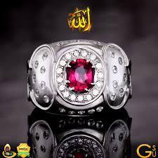 silver ring for men islam gemstone benefits in islam yaqoot gem in islam