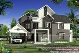 slanted roof house modern sloped roof house plans house roof