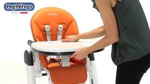 chaise peg perego chaise haute bébé siesta de peg perego