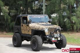 purple camo jeep miami car wraps