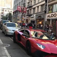 what year did lamborghini start cars lamborghini owner shocked as jumps onto his car daily mail