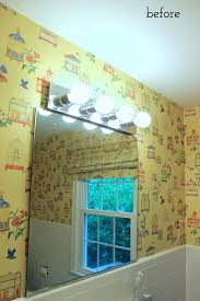bathroom stencil ideas bathroom stencil ideas mirror and lights before stenciled bathroom