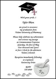 graduation announcements wording 17 best pharmacy graduation announcement for rx pharmacist images