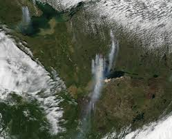 Canada Wildfires by Wildfires In Western Canada Natural Hazards