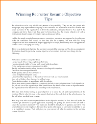 hr resume objectives resume for recruiter free resume example and writing download hr recruiter resume norcrosshistorycenter