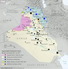 map of irak iraq map timeline government takes kirkuk from