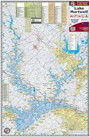 lake lanier map lake lanier 301 kingfisher maps inc