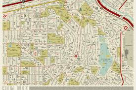 Seattle Traffic Map by A Retro Map Of La Is Reimagined With Film Titles Curbed La