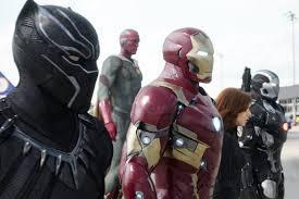 captain america civil war black panther debut movie
