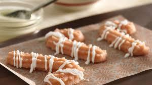 candy cane spritz cookies recipe bettycrocker com